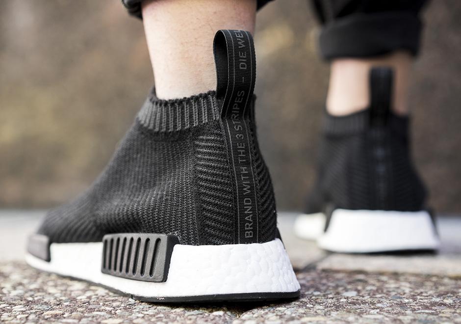 sports shoes 2cda0 91444 adidas NMD City Sock Black Grey White   SneakerNews.com