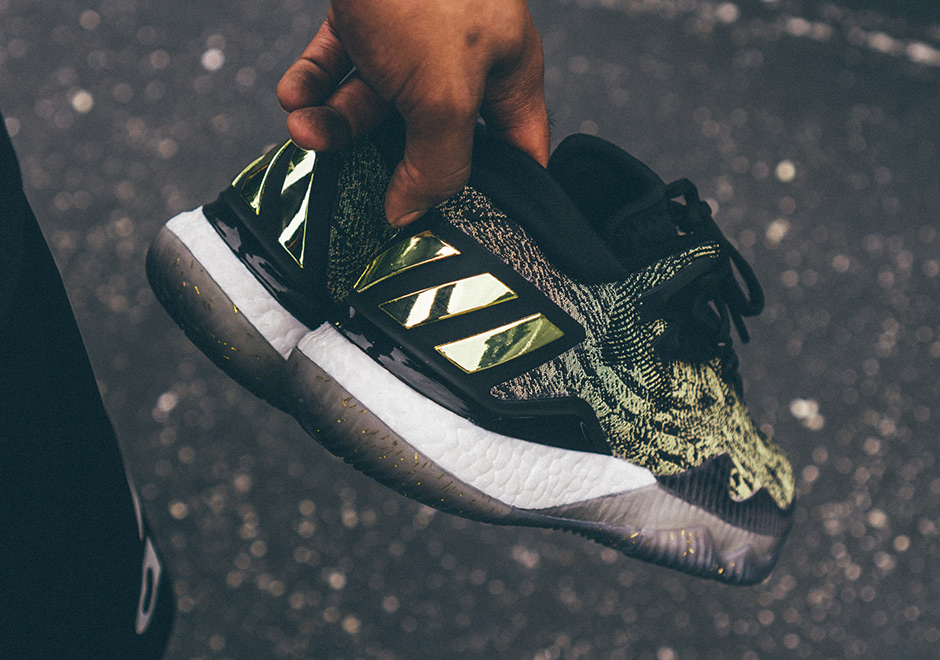 fb222fd897a4 ... get adidas crazylight boost 2016 is better than ever in black gold  james harden pe sneakernews