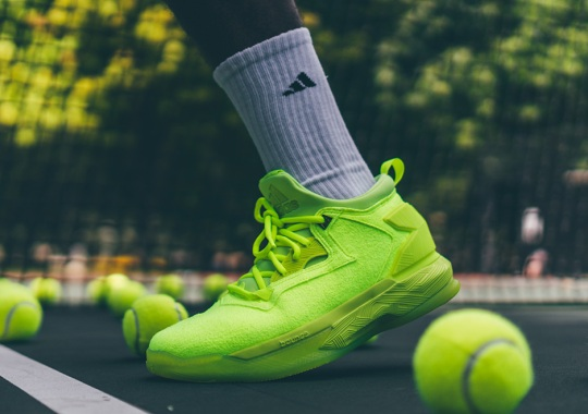 "Damian Lillard And adidas Release ""Tennis Ball"" In Time For US Open"