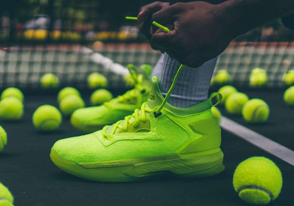 "best service affee dd43f adidas D Lillard 2 ""Tennis Ball"""