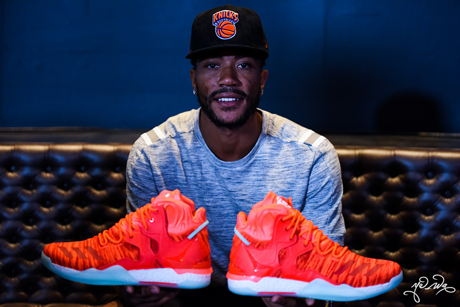 87d055f6034 adidas D Rose 7 Knicks. adidas Made Derrick Roses New Shoe In Orange Before  Trade To Knicks