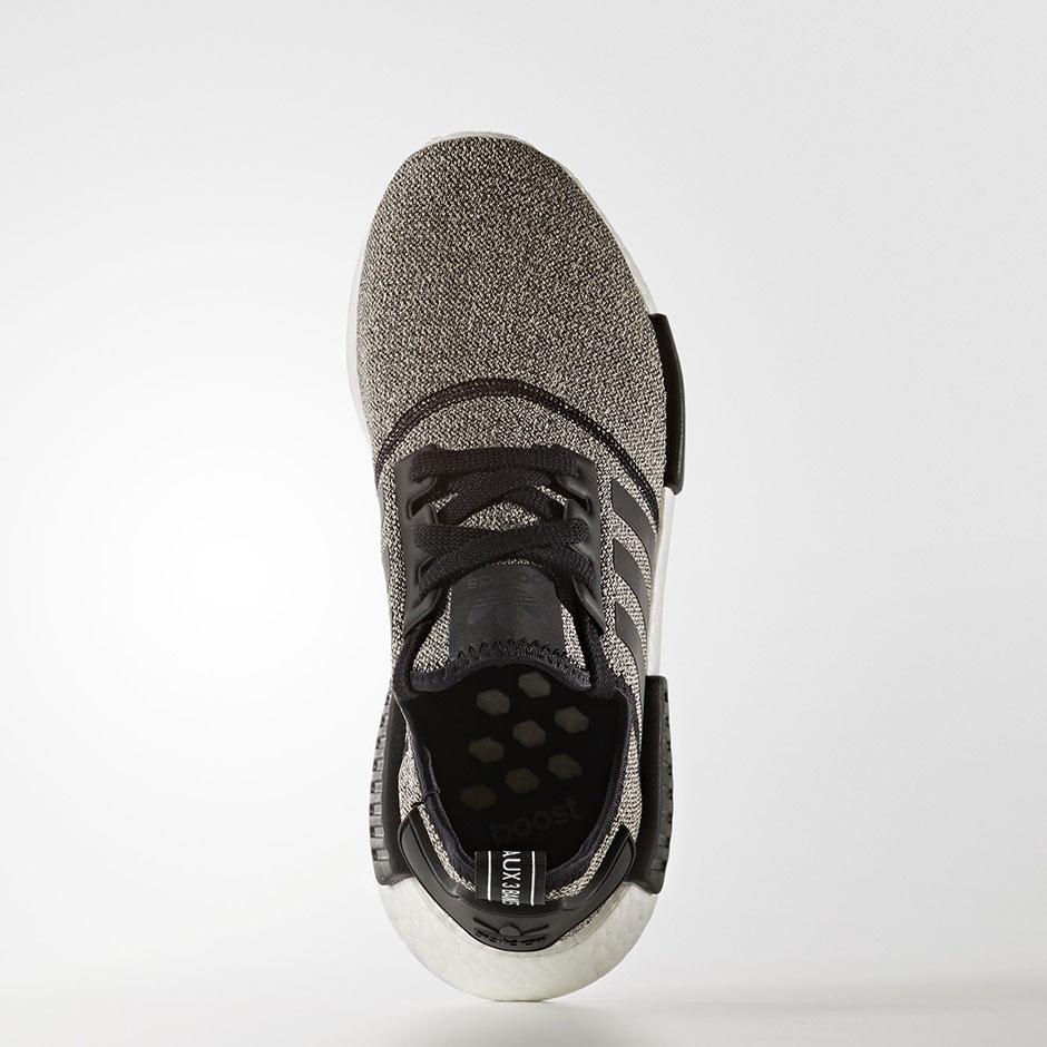 Adidas Nmd R1 Noir Gris Réfléchissant DLZ2KA