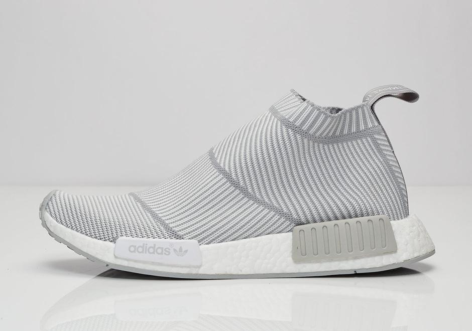los angeles d37b1 e4688 adidas NMD City Sock Light Grey S32191 | SneakerNews.com
