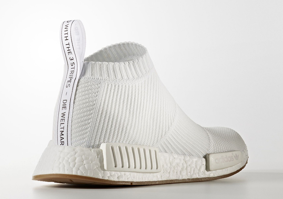 adidas NMD City Sock White Gum BA7208  97243f1fa1