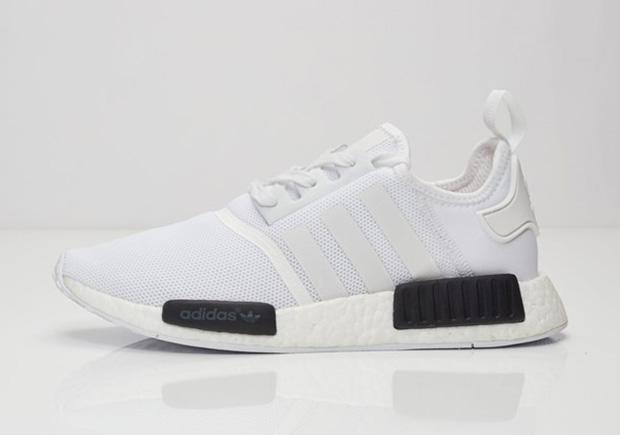 adidas nmd white core black