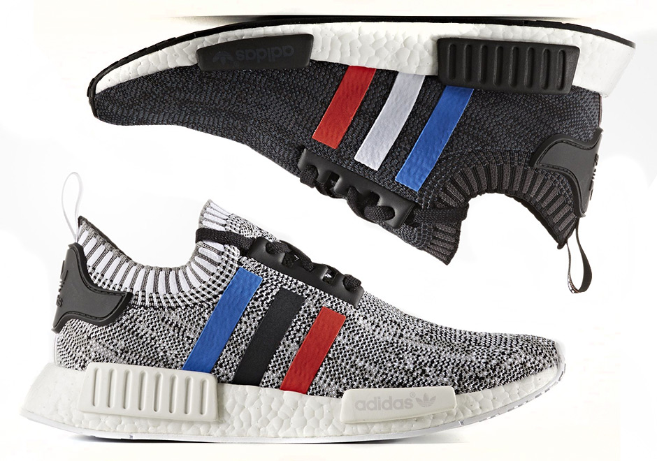 82c4927860d30 adidas NMD R1 Primeknit Tri-Color December 2016