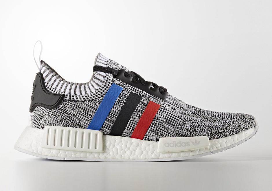 563710931 adidas NMD R1 Primeknit Tri-Color December 2016