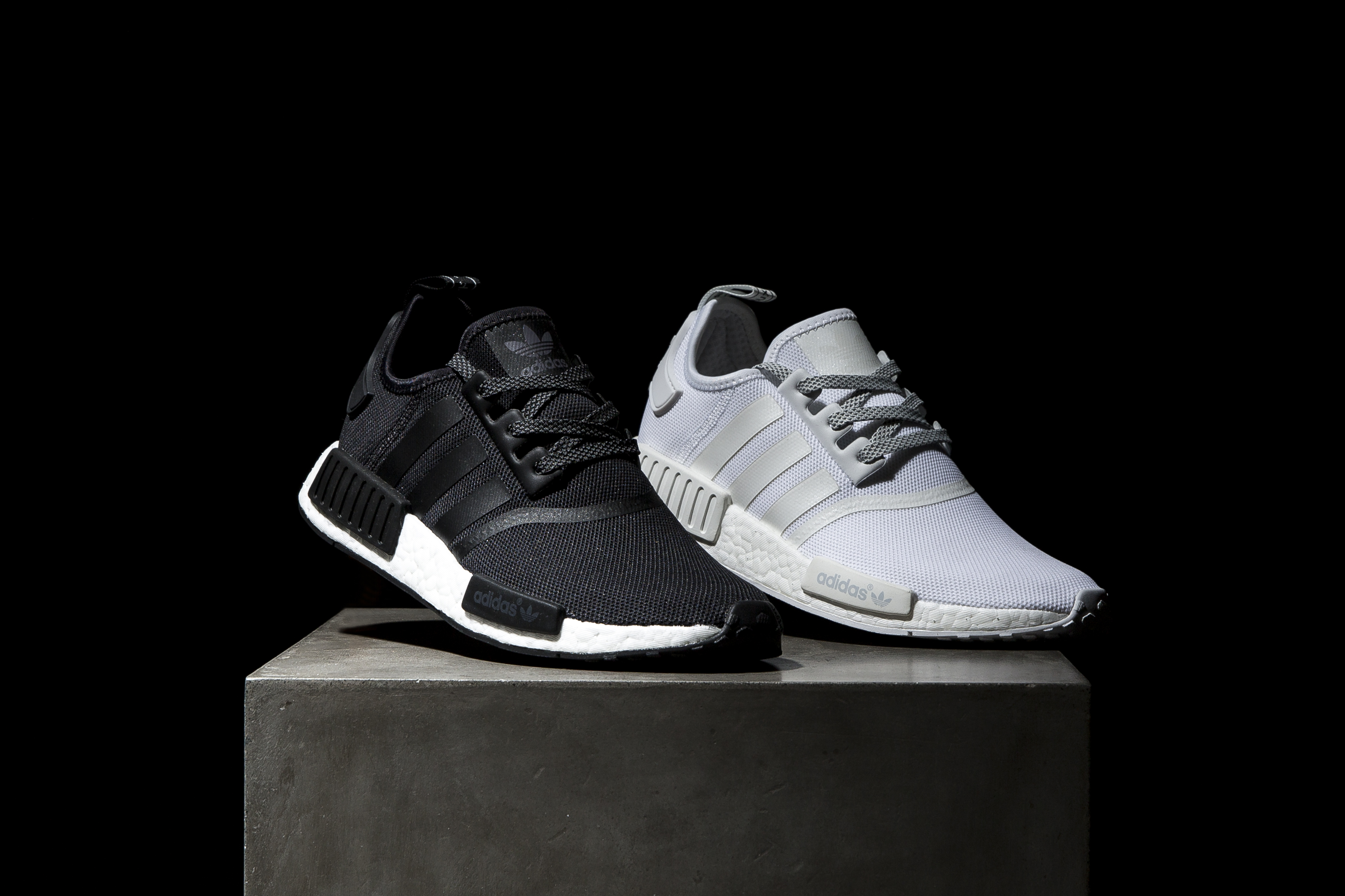 Adidas NMD Runner R1 PK White Black Grey Silver Glitch Camo Pack