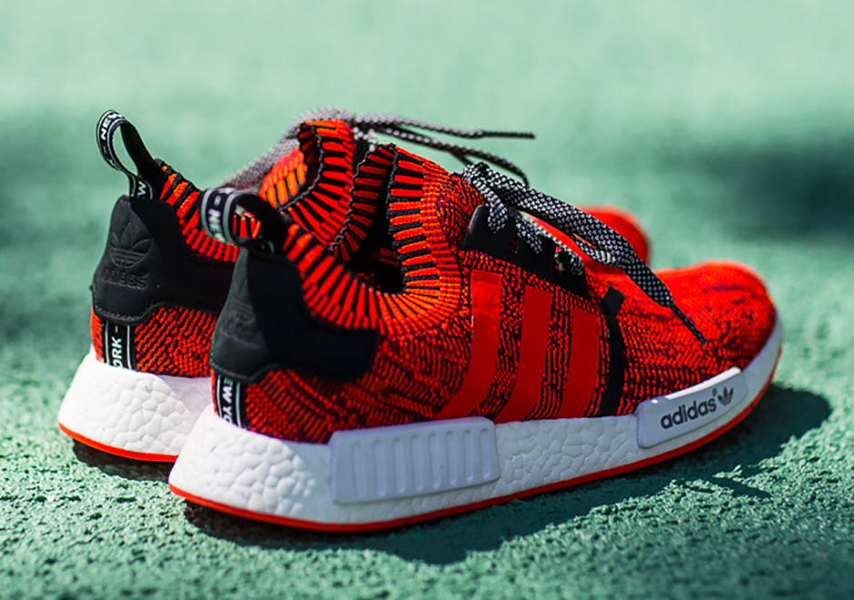 100% authentic 1b889 717e9 adidas NMD Red Apple New York City Release Date ...