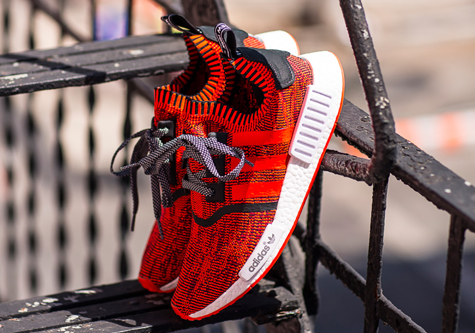 100% authentic 736dd bfc56 adidas NMD Red Apple New York City Release Date ...