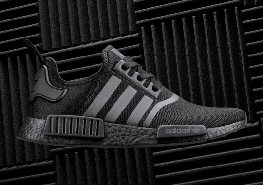 "The adidas NMD R1 ""Triple Black"" Has Reflective Stripes"