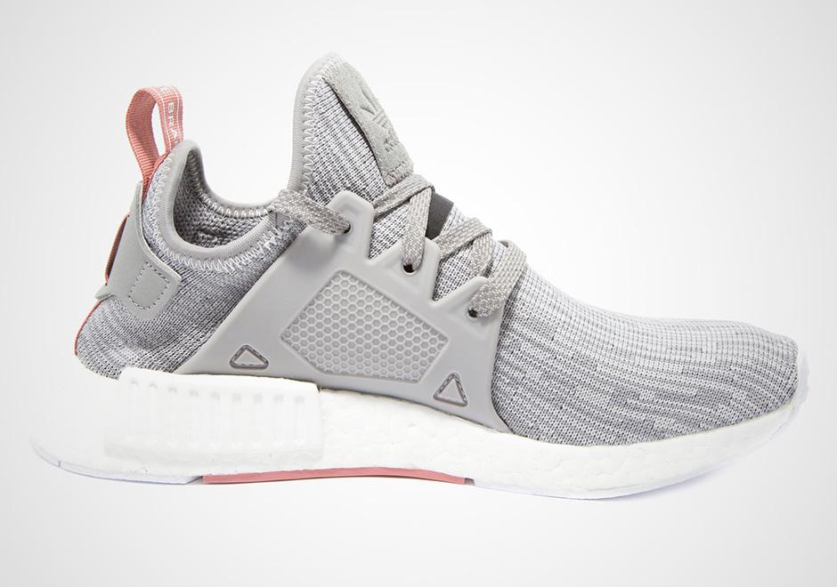 adidas nmd womens grey pink
