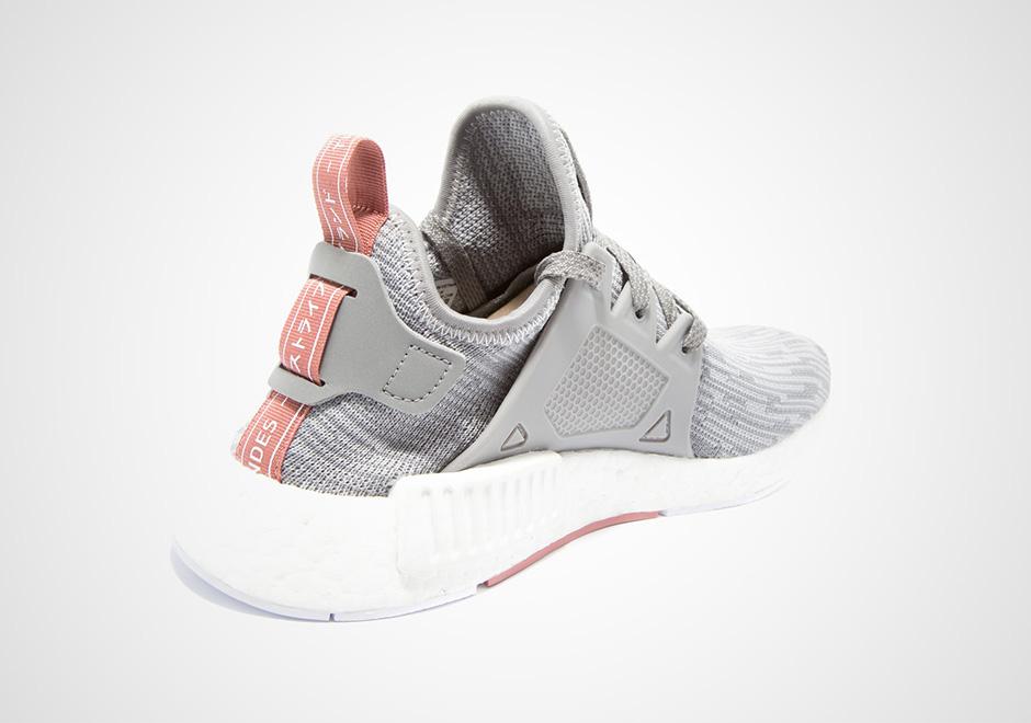 adidas shoes for girls high top 2016 adidas nmd primeknit grey light pink