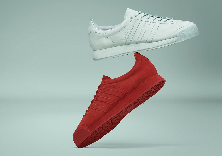 """adidas Originals is refreshing their adidas Samoa """"Pigskin Pack"""" with two  new colorways slated to release on August 27th. The original adidas Samoa  Pigskin ... 297fe5fd7"""