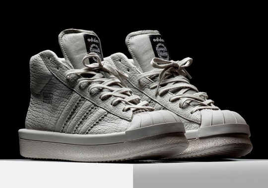 The $1,000 adidas x Rick Owens Collaboration Is Now Available