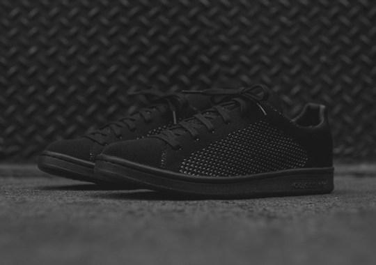"adidas Stan Smith Primeknit In ""Triple Black"""