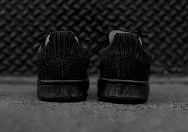 7c8c2e8dfef43f Those in need of another Triple Black sneaker can pick up a pair of this Stan  Smith now at select adidas Originals retailers like Kith.