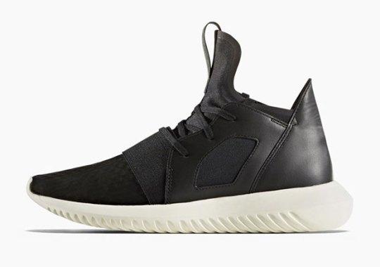 Peep The adidas Tubular Defiant With Leather