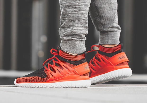 brand new 7790d 0e3b9 adidas Tubular Nova Primeknit Chili Red | SneakerNews.com