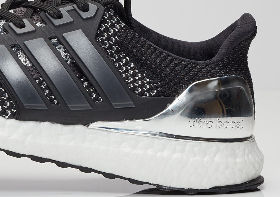 Up Close With The Adidas Ultra Boost Quot Silver Medal