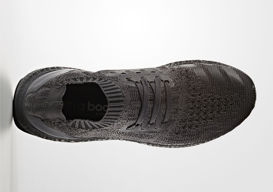 check out b699b 62fb9 adidas Ultra Boost Uncaged Triple Black BA7996 | SneakerNews.com