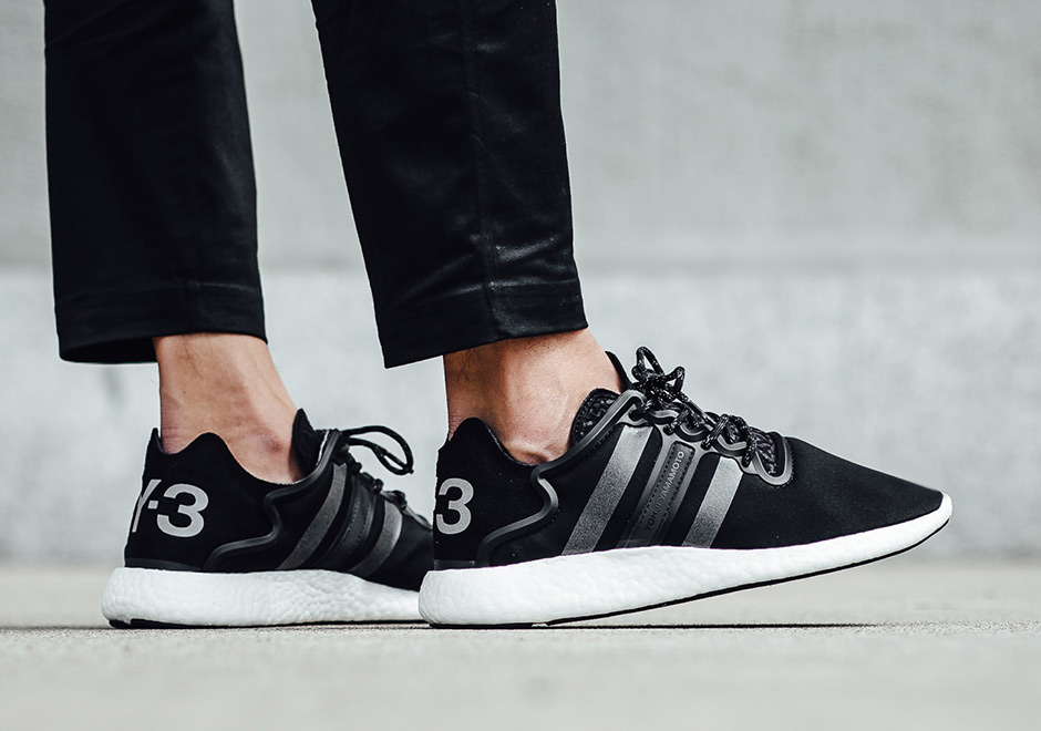 adidas Y 3 by Yohji Yamamoto Y 3 Pure Boost Men's Shoes Core