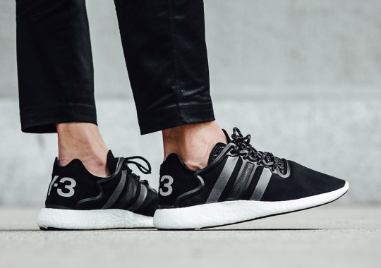 The adidas Y-3 Yohji Boost Returns In A Clean Black Colorway