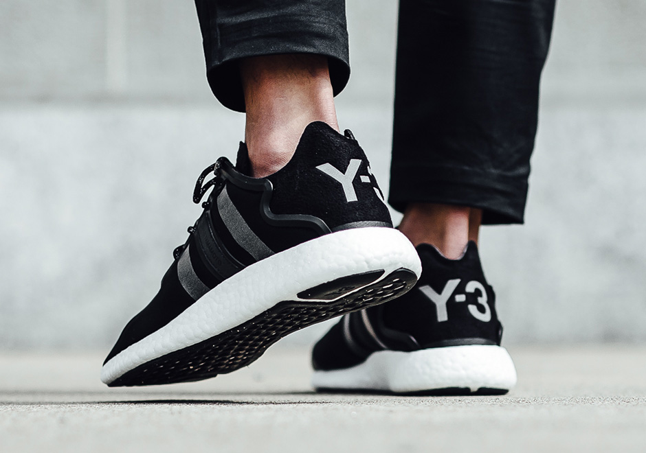 98722787ee56 adiads Y-3 Yohji Boost. Color  Core Black Reflect-Footwear White