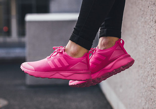 adidas zx flux rosa fluo