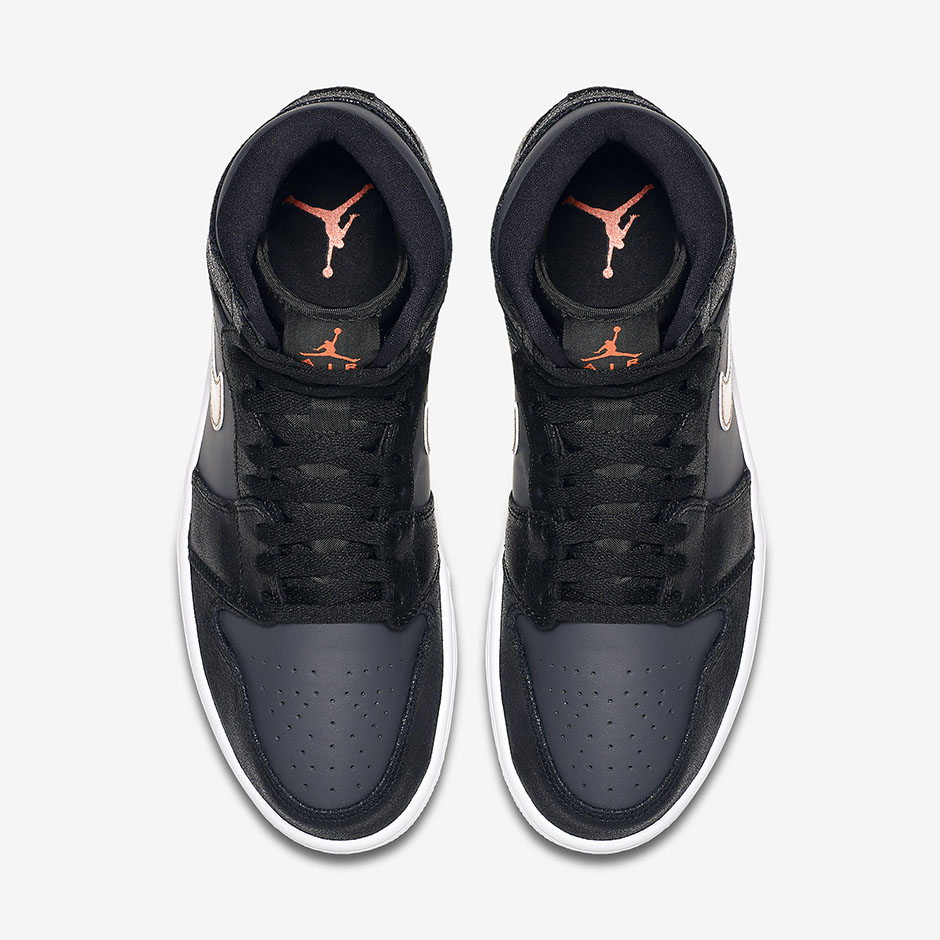 1f84de0a427 Air Jordan 1 High. Color  Black Metallic Red Bronze-Dark Grey-White-Infrared  23. Style Code  332550-016. show comments
