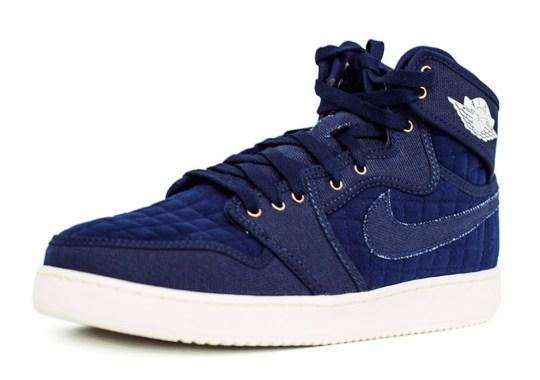 "Air Jordan 1 KO ""Quilted"" Comes In Blue"