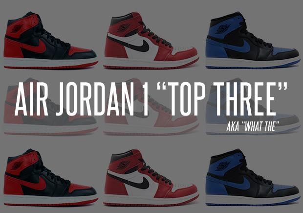 top 3 jordan 1 on feet