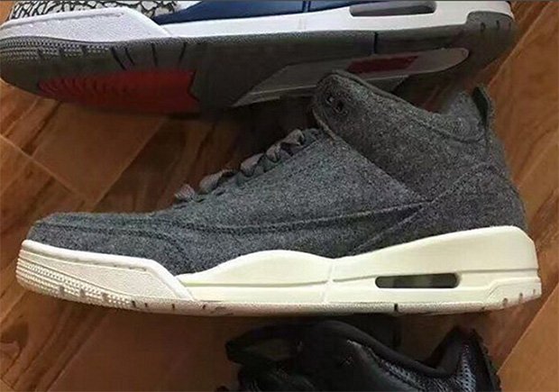 f0b8a981b178 Jordan Brand Adds Wool To The Air Jordan 3