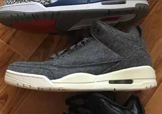 Jordan Brand Adds Wool To The Air Jordan 3