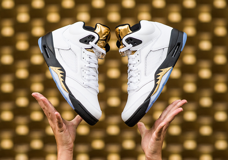 29b1f56a4bef Air Jordan 5 Gold Tongue Release Date and Price Info