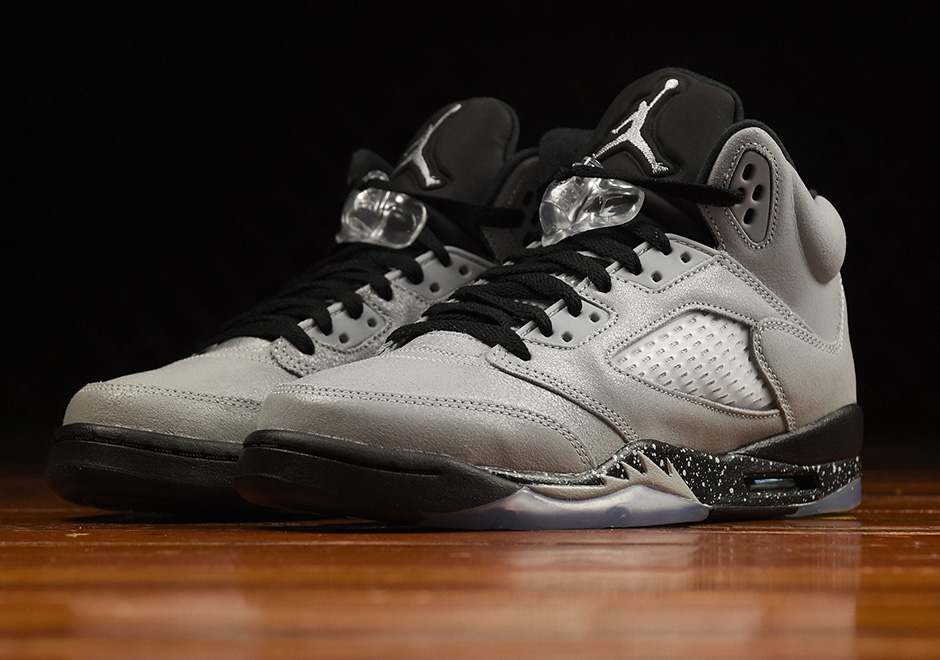 Air Jordan 5 Wolf Grey Kids Release Info | SneakerNews.com  Jordans
