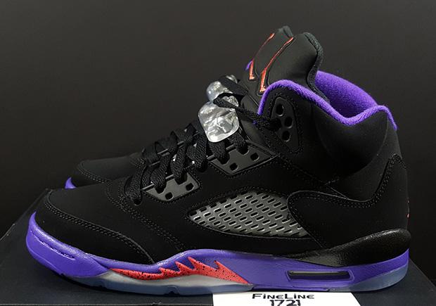 """Another Look At The Air Jordan 5 """"Raptors"""""""