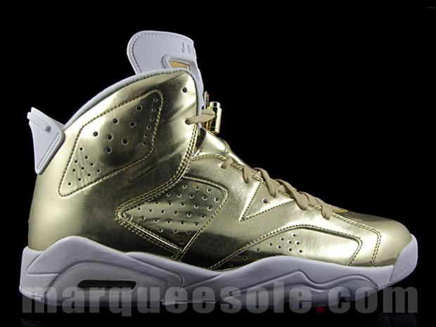 various colors 0119a 1a125 Air Jordan 6 Pinnacle Metallic Gold Release Date ...