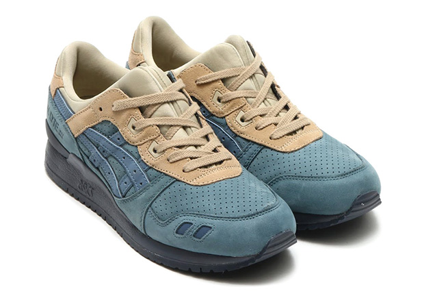 asics gel lyte iii blue mirage