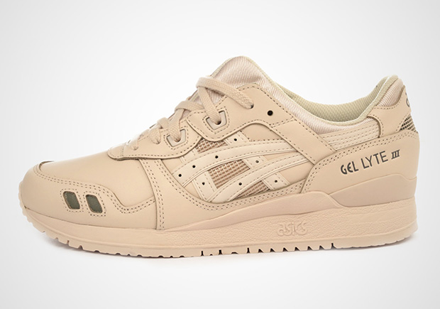 best authentic 2d056 5b6c8 ASICS GEL-Lyte III Tan Leather HL6A2-2121 | SneakerNews.com
