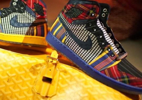 Jordan Brand Made Special Air Jordan 1s For Craig Sager