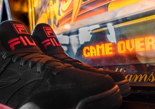 """FILA Presents The Video Game Inspired """"Game Over"""" Pack"""