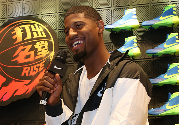 Is This Paul George's Nike Signature Shoe?