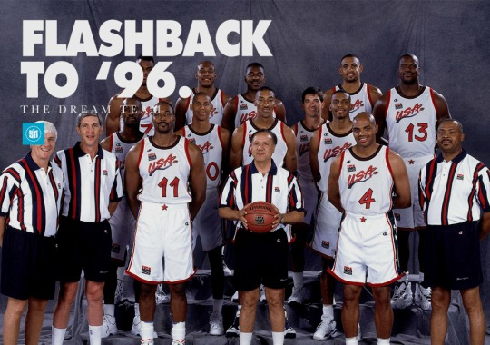 Flashback to '96: Olympic Sneakers of Dream Team 1996