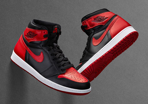 """low priced 3fe7b bfd25 Air Jordan 1 """"Banned"""" Releasing On Nike SNKRS Drawing On September 3rd"""