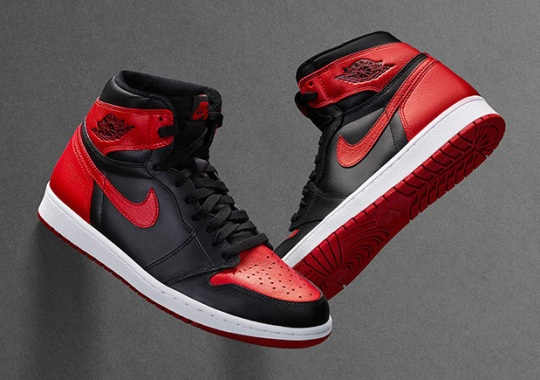 "Air Jordan 1 ""Banned"" Releasing On Nike SNKRS Drawing On September 3rd"