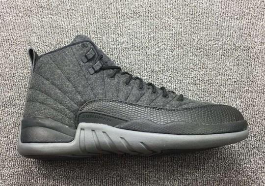 "A Detailed Look At The Air Jordan 12 ""Wool"""