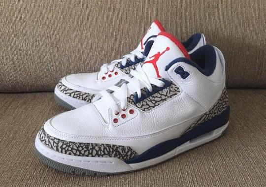 "Release Info For Air Jordan 3 ""True Blue"""