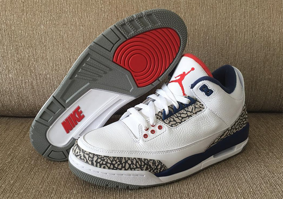 Nike Air Jordan 3 True Blue In Vendita LO8vJMdY