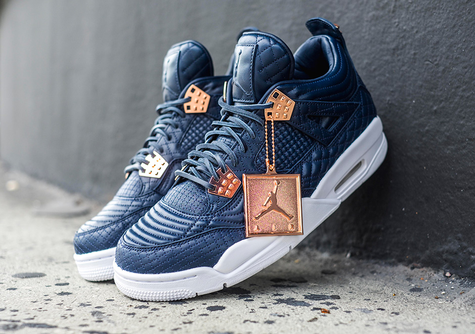 huge selection of 275e6 519e3 Air Jordan 4 Premium Obsidian Release Date   SneakerNews.com
